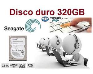 Disco Duro 320 Gb.sagate. Laptop Nuevo, Oferta.!!!