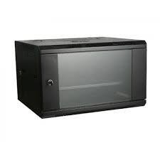 Gabinete (rack) De Pared 6 Rmu, Negro, Marca Linkbasic
