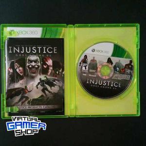 Juego Para Xbox 360 - Injustice