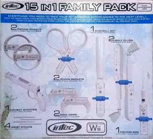 Accesorios Para Wii 15 En 1