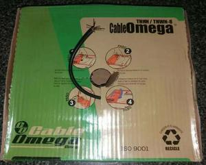 Cable # 8 Marca Omega 100% Cobre. Excelente