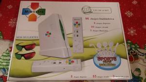 Nintendo Mi Wii 2 Inalambrico 96 Juegos En Super Oferta