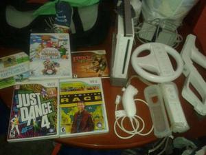 Nintendo Wii Usado En Perfecto Estado Como Nuevo Con Juegos