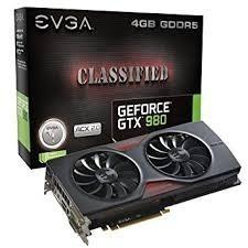 Tarjeta De Video Gtx 980 Classified 4gb Como Nueva.