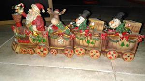 Adorno De Navidad En Forma De Tren