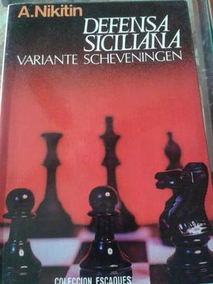 Ajedrez Libro Usado Defensa Siciliana