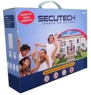 Alarma Inalámbrica Para Casa U Oficina, 4 Zonas Secutech