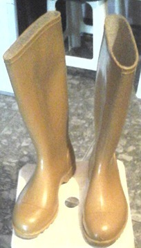 Botas De Goma Caña Larga Con Puntera Calzados Santa Ninfa