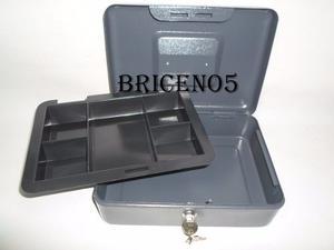 Caja Chica Metalica Grande, Seguridad O Caja, Con 2 Llaves
