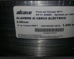 Cerco Electrico Aluminizado  Mts