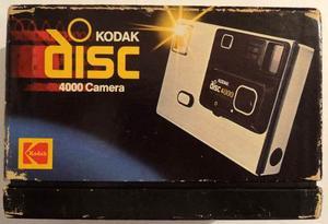 Cámara Antigua Kodak Disc  Vintage