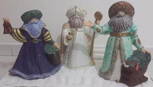 Espíritu De La Navidad En Cerámica Grandes, Usados