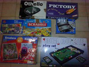 Juegos De Mesa Pictory,othello,scrabble,bingo,royal Roulette