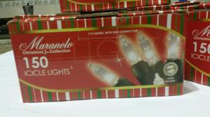Luces De Navidad, Cable Blanco