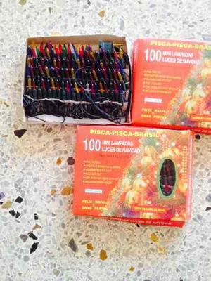 Luces De Navidad Tradicional Multicolor 100 Luces