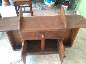 Mueble Para Equipo De Sonido Madera Saman