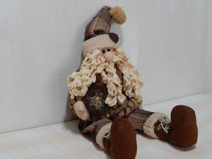 Muñeco De Navidad Peluche, Sentado