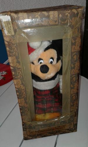 Muñeco Dormilon Navideño De Mickey Mouse