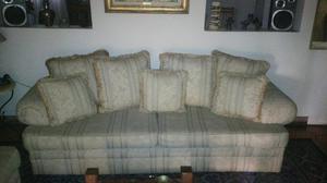 Sofa De 2 Y 3 Puestos Importados