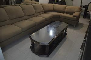 Sofa Modular De 7 Puestos En Tela