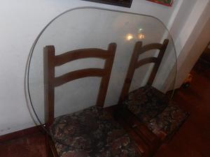 Vidrio Para Mesa De 4 Puestos