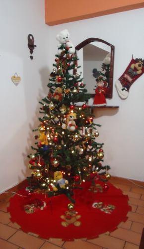 Árbol De Navidad Con Decoración Incluida