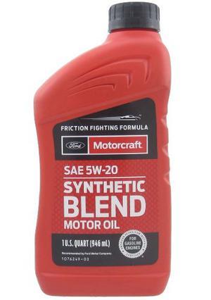 Aceite De Motor Semisintetico 5w20 Motorcraft Importado