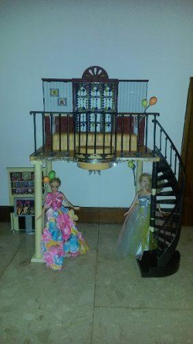 Casa De Muñecas Barbie (sin Muñecas)