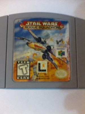 Juego De Nintendo 64 Star Wars Rogue Squadron
