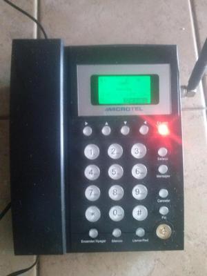 TELEFONO DE CASA INALAMBRICO MICROTEL CON LINEA