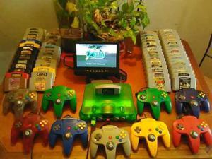 Cambio Cambio Nintendo 64 + Juegos + Controles Cambio Cambio