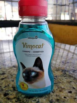 Champú Cosmético Para Gato