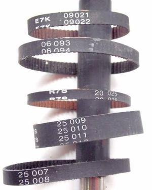 Correas Dentadas Para Escaner, Impresoras O Proyectos