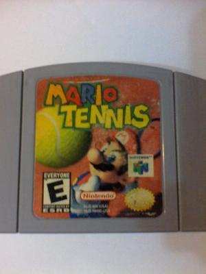 Juego De Nintendo 64 Mario Tennis