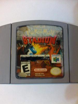Juego De Nintendo 64 Pokemon Stadium