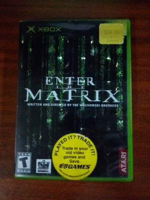 Juego Enter The Matrix Para Xbox Original