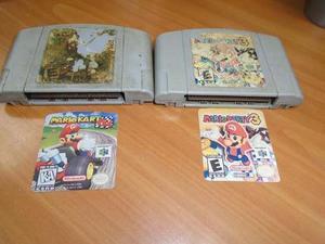 Mario Party 3 + Mario Kart Cambio Por Celular O Venta