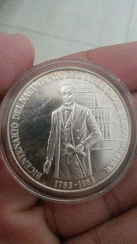 Moneda Bicentenario Del Nacimiento Del Libertador Ley 900