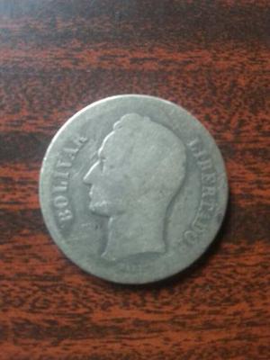 Moneda De Plata 2 Bolivar 10gram