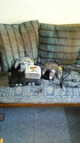 Nintendo 64 + 2 Controles + 4 Juegos