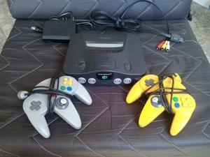 Nintendo 64 + 2 Controles + Juegos