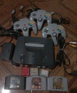 Nintendo 64 + Controles + Juegos Megaoferta Aprovechaaa