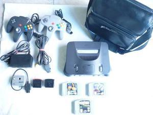 Nintendo 64 + Juegos + Accesorios + Estuche..