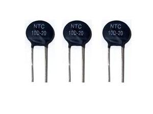 Termistor Ntc 10d-20 Resistencia Termica Thermistor Nuevo!