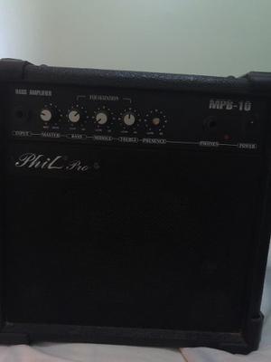 Amplificador De Bajo Phil Pro Mpb- W