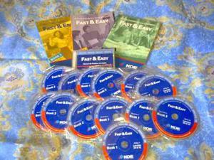 Curso De Ingles Fast&easy. Koe Completo Con Libros Y Cd.