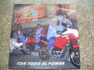 Disco De Acetato -luisito Ayala Y Su Puerto Rican Power