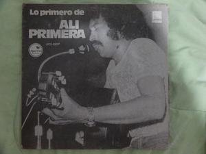 Disco Vinilo Lp Ali Primera