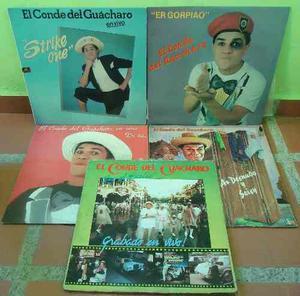 El Conde Del Guacharo Lp Colección Vinyl