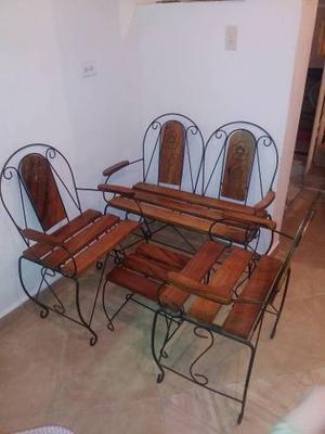 Juego De Muebles De Jardin Sala Porche